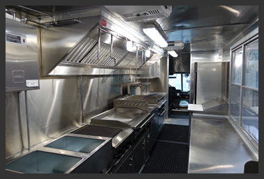 Build a food truck buy custom food trucks for sale for Food truck interior design