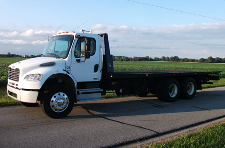 used flatbed tow trucks