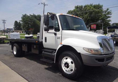 International Flatbed Tow Truck for Sale