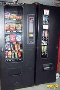 (2) - Snack Soda Vending Machines- FSI Satellite & Antares Combos- Nevada!!!
