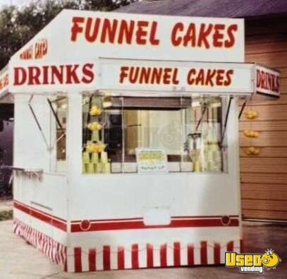 Used Funnel Cake Concession Trailer