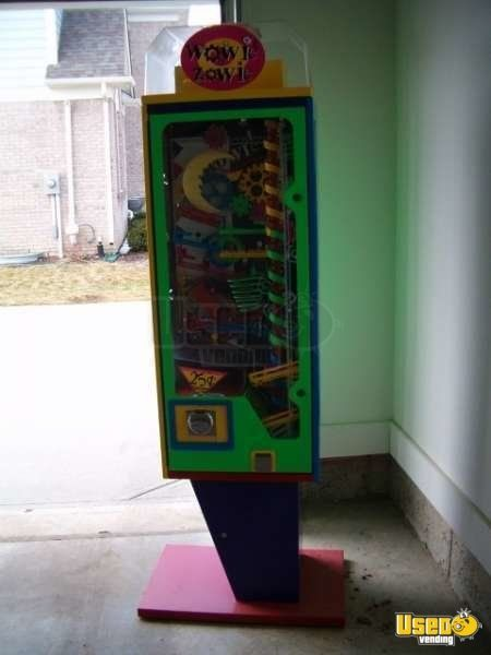 Used Wowie Zowie Wacky Fun Factory Vending Machines for Sale in Indiana!