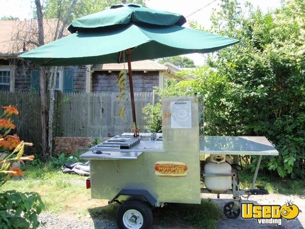 Towable Hot Dog Cart!!!