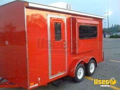 2014 - 14' x 6' Shaved Ice Snowball Concession Trailer!!!