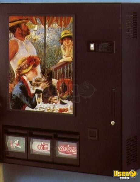 Coinco CT48 Machine - Compact Soda Machine - Soda Vending ...