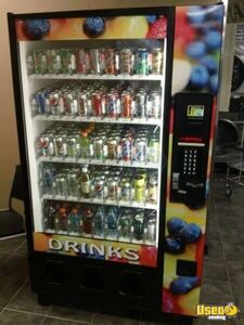 Dixie Narco BevMax Glassfront Used Soda Vending Machine for Sale in Arkansas!