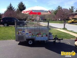2005 - All A Cart Italian Ice / Ice Cream Towable Street Vending Cart for Sale!