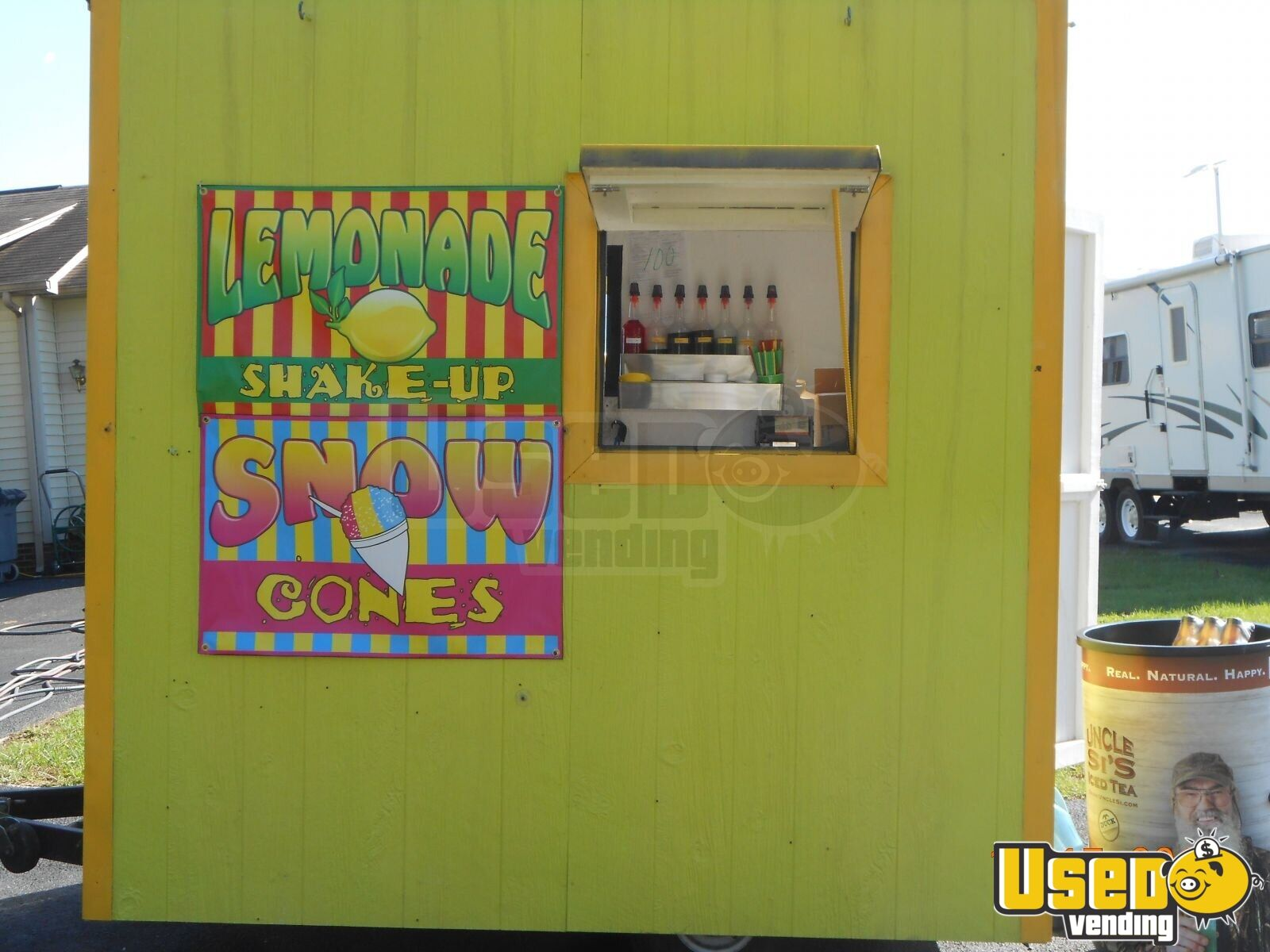 Used Trucks For Sale In Ky >> Used 8' Snow Cone / Lemonade Trailer for Sale in Kentucky | Concession Trailer
