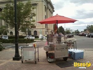 "2005 - 40"" x 50"" x 56"" Chicago Style Hot Dog Street Food Vending Cart for Sale!"