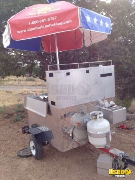 "2009 - 40"" x 48"" x 56"" All-American Hot Dog Cart!!!"