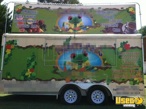 2008- 16' Homestead Specialty Coffee/ Smoothie TURN KEY Concession Trailer!!!!