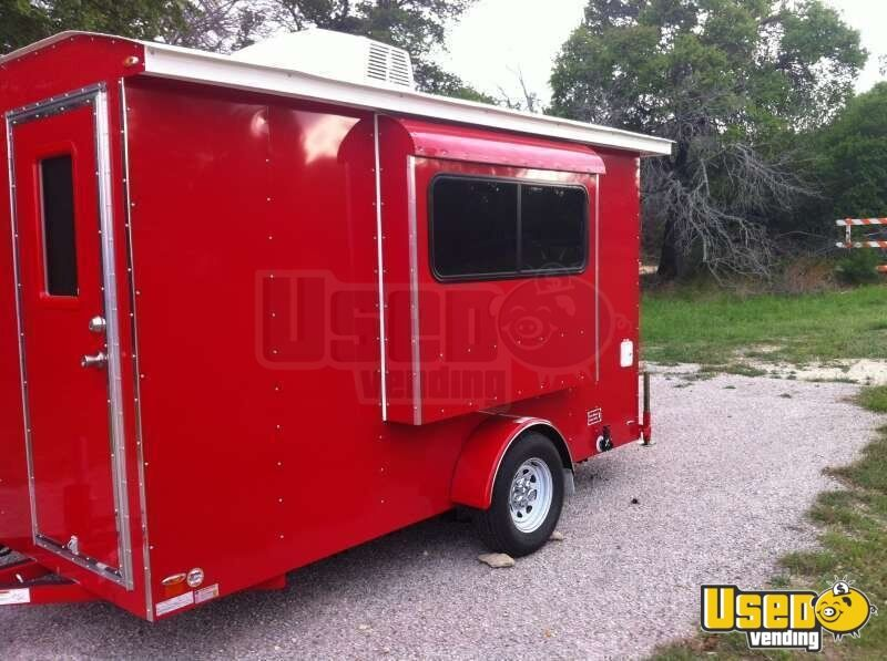 2015 6' x 12' Sno-Pro Shaved Ice Concession Trailer - 2