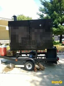 7' Food Cart with Smoker in New York for Sale!!!