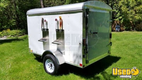 12 Custom Refrigerated Draft Beer Concession Trailer For