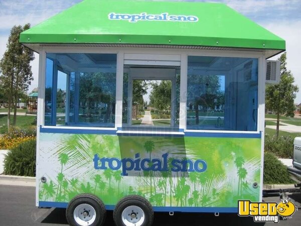 tropical sno portable concession stand this 10 x 7 portable shaved ice ...