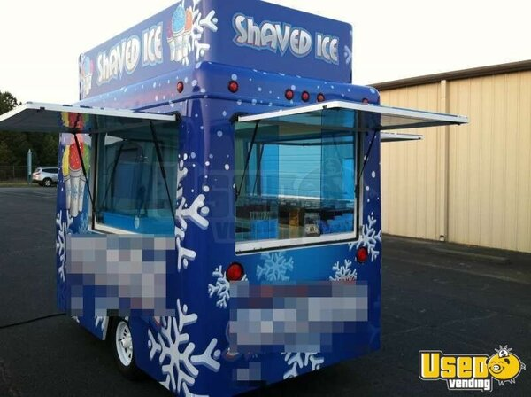 trailers used for shaved ice