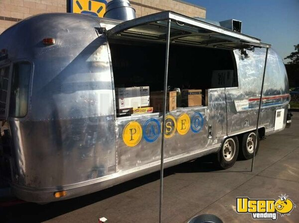 1978 Airstream Trailer Mobile Kitchen - Totally Renovated- Plus F250 Truck to Pull It!!!