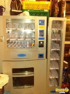 (7) Used Electrical Snack Soda & Combo Vending Machines for Sale in New Jersey!