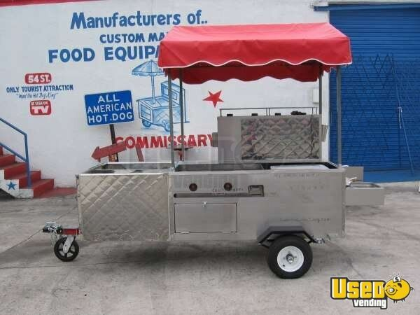 10' x 5' Fully Contained All American Hot Dog Vending Cart!!!