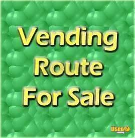 Vending Machine Route for sale