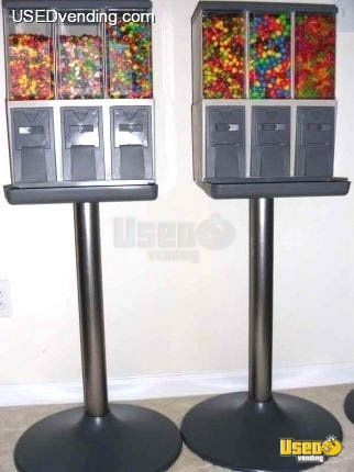 Vendstar 6000 Triple Head Bulk Candy Vending Machines