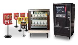 Bulk Candy Vending & Other Machines
