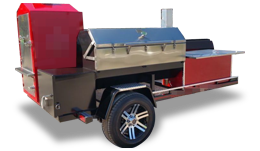 Open BBQ Smoker Trailers for Sale
