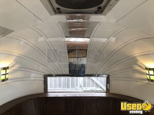1955 Flying Cloud Whale Tail Beverage Concession Trailer Beverage - Coffee Trailer 55 Oklahoma for Sale