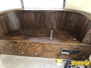 1955 Flying Cloud Whale Tail Beverage Concession Trailer Beverage - Coffee Trailer 61 Oklahoma for Sale