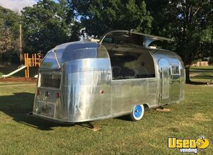 1955 Flying Cloud Whale Tail Beverage Concession Trailer Beverage - Coffee Trailer Air Conditioning Oklahoma for Sale