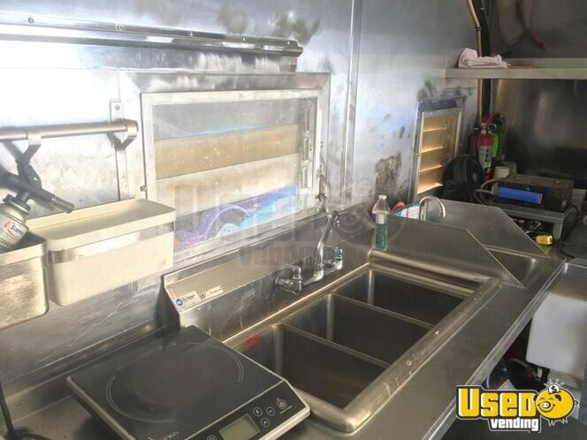 1955 Food Concession Trailer Concession Trailer Deep Freezer Utah for Sale - 6