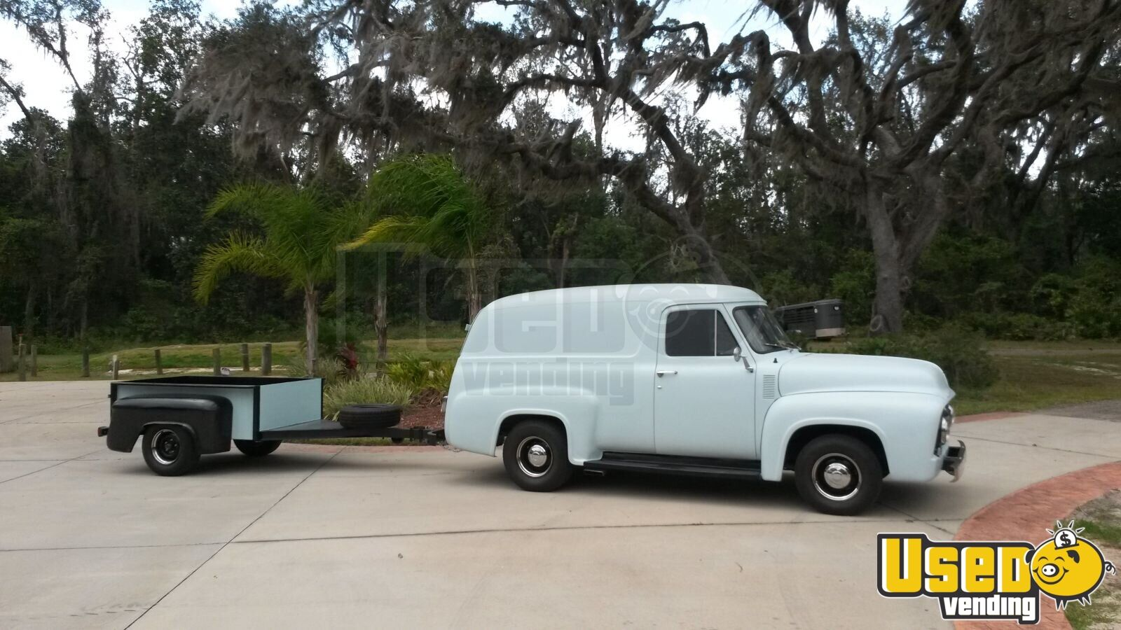 1955 Ford F 100 Panel Other Mobile Business Air Conditioning Florida for Sale - 2