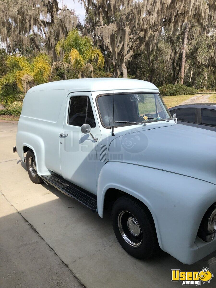 1955 Ford F 100 Panel Other Mobile Business Removable Trailer Hitch Florida for Sale - 4