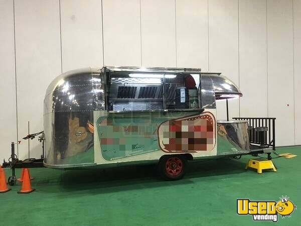 Airstream For Sale Bc >> Vintage Airstream Concession Trailer With Patio For Sale In British Columbia
