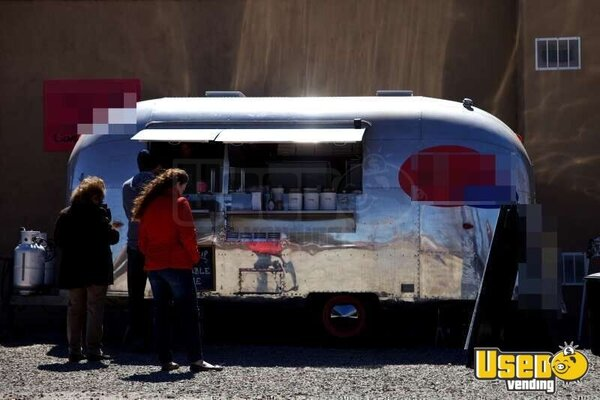 1963 Airstream Globetrotter Concession Trailer New Mexico for Sale