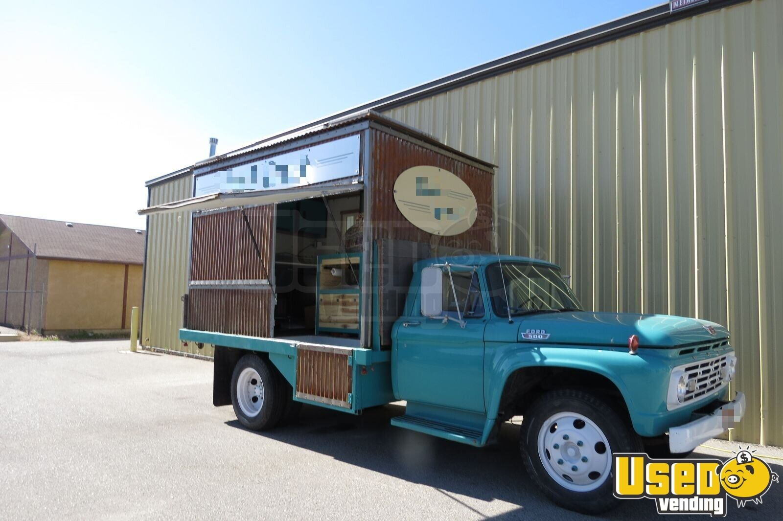 1964 Ford F-500 Pizza Food Truck Cabinets Idaho Gas Engine for Sale - 3