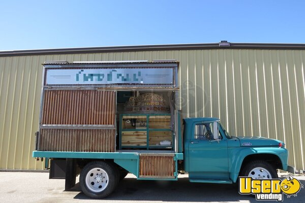 1964 Ford F-500 Pizza Food Truck Idaho Gas Engine for Sale