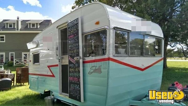 14 X 7 Shasta Airflyte Concession Trailer For Sale
