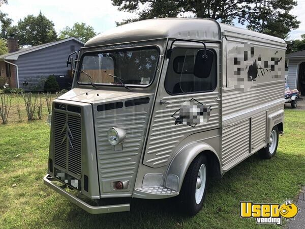 1968 Citroen Hy Van Mobile Boutique Truck New York Gas Engine for Sale