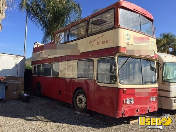 Vintage Double Decker Bus For Sale In California