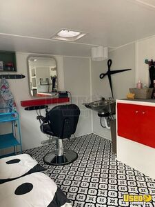 1971 Camper Mobile Hair Salon Mobile Hair Salon Truck Insulated Walls Texas Gas Engine for Sale