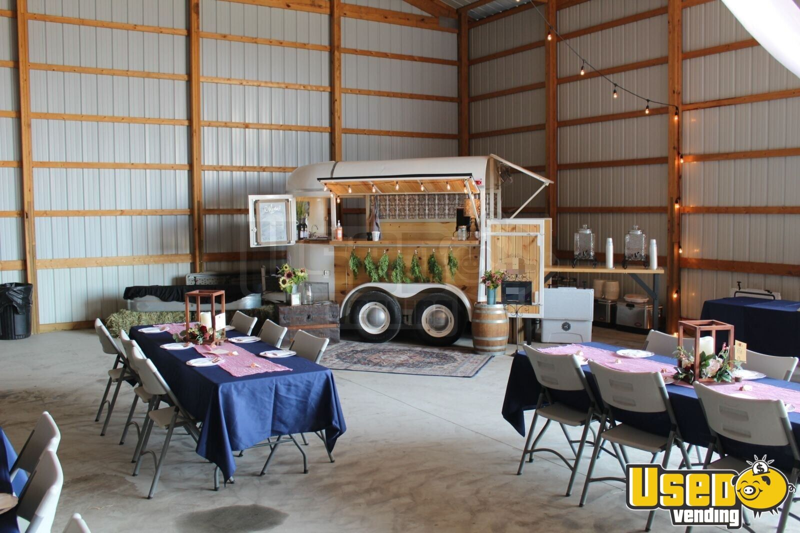 1972 Vintage Horse Trailer Mobile Wine Bar Beverage Bar Conversion For Sale In Michigan