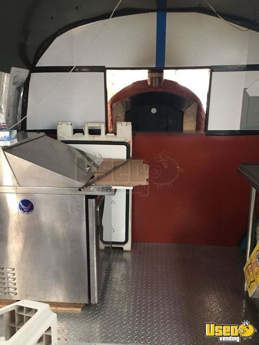 1973 Airstream Pizza Trailer Pizza Oven Ohio for Sale - 5