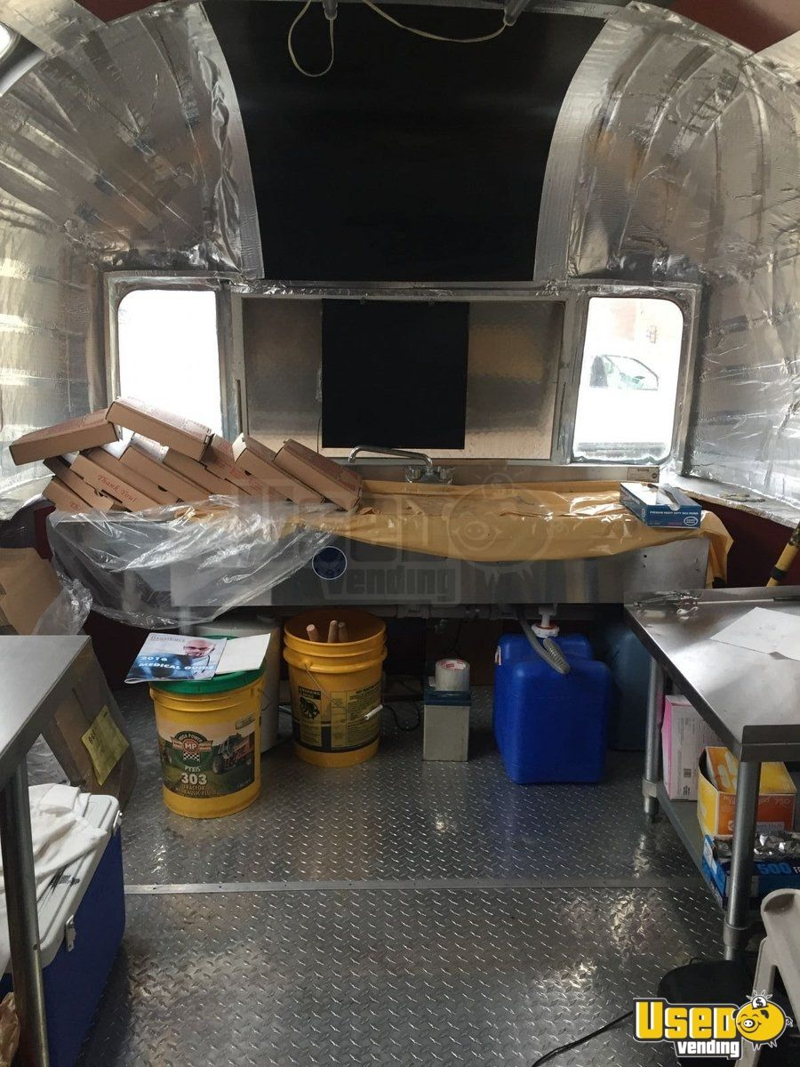 1973 Airstream Pizza Trailer Prep Station Cooler Ohio for Sale - 4