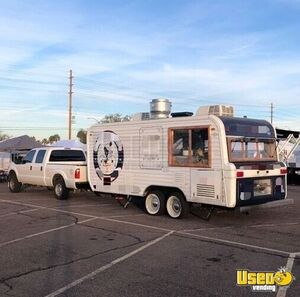 1973 Camper Kitchen Food Concession Trailer Kitchen Food Trailer Awning Arizona for Sale