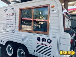 1973 Camper Kitchen Food Concession Trailer Kitchen Food Trailer Diamond Plated Aluminum Flooring Arizona for Sale