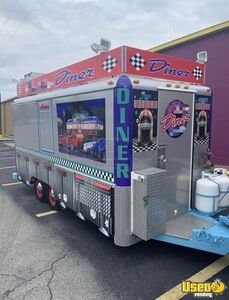 1975 Retro Food Concession Trailer Concession Trailer Air Conditioning Kentucky for Sale