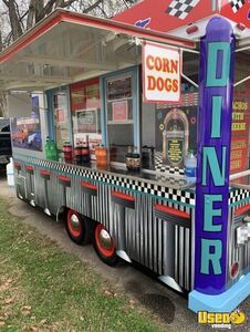 1975 Retro Food Concession Trailer Concession Trailer Kentucky for Sale