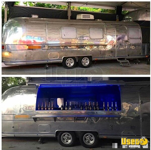 1976 Airstream Sovereign Beverage - Coffee Trailer Florida for Sale