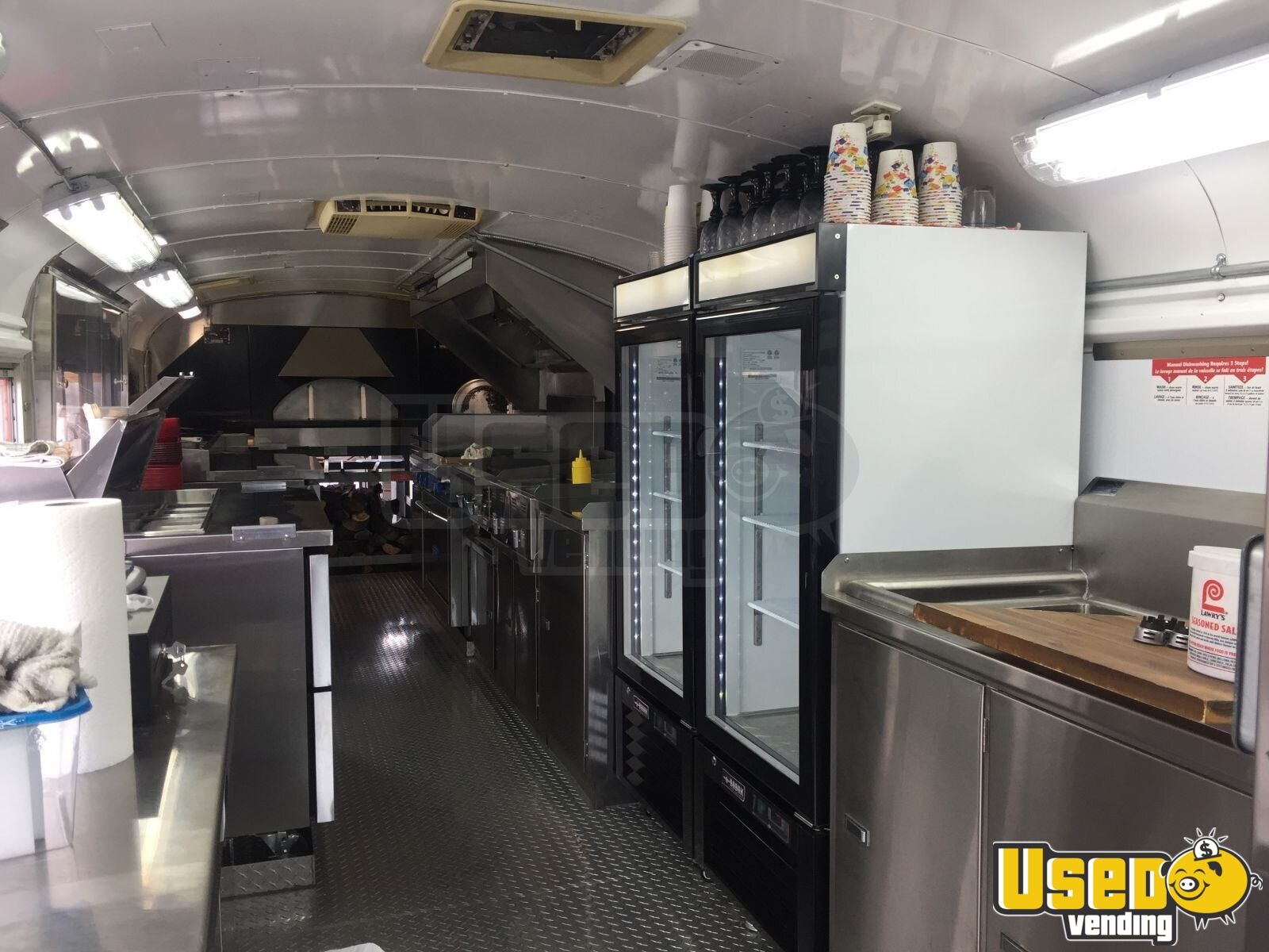 1976 Bluebird All-purpose Food Truck Fryer Yukon Territory Gas Engine for Sale - 17